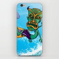 Tiki Surfer iPhone & iPod Skin