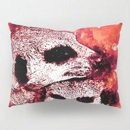 meerkat suricate mongoose wsro Pillow Sham