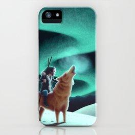 Howl iPhone Case