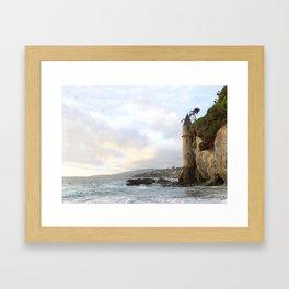 "Laguna Beach, California ""La Tour"" Framed Art Print"