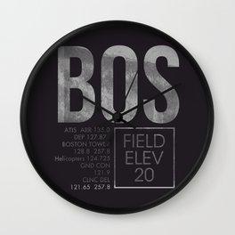 BOS II Wall Clock