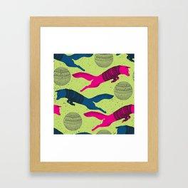 the Fantastic Hipster Mr. Fox Framed Art Print