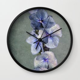 Time for blue Wall Clock
