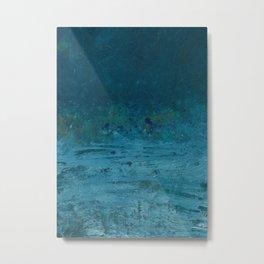 Wind Blowing Sea Metal Print
