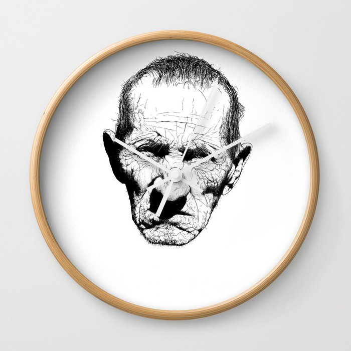 Mr. Grumpy Wall Clock