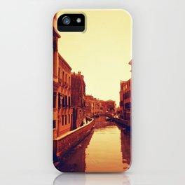 Venice in Redscale Film iPhone Case