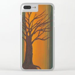 Treescape Clear iPhone Case