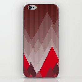 Triangular Mountain Range iPhone Skin