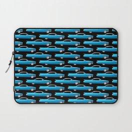 60's well finned Caddy in blue - pattern version Laptop Sleeve