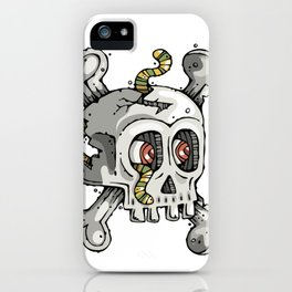 Paul the Skull iPhone Case