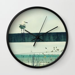 Sea gull Wall Clock
