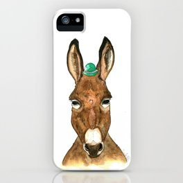 Ane au chapeau iPhone Case
