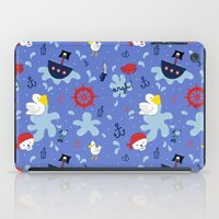 pirates iPad Cases featuring Pirates by lindsey salles