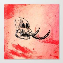 Bones I Canvas Print