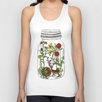 huebucket Tank Tops featuring The Way You Remember Me by Huebucket