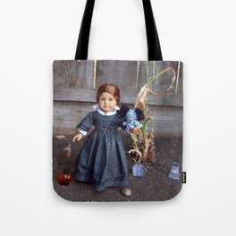 The Girl and Her Pet Sea Monster Tote Bag
