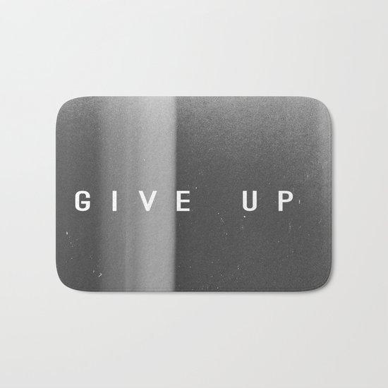 Give Up Bath Mat