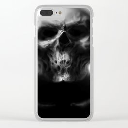 It Looked Back At Me Clear iPhone Case