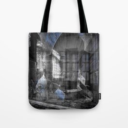 Looking Back at the Past Tote Bag