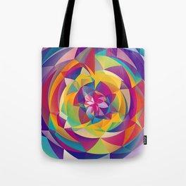 Acid Blossom Tote Bag