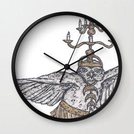 Tiny Dancer - Shamadan Owl Wall Clock
