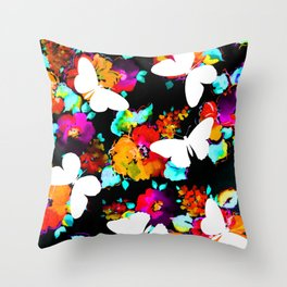 Thinking Spring Throw Pillow