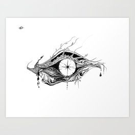 NOT-I EYE Art Print