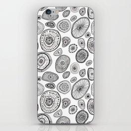 Black and White Eggs iPhone Skin