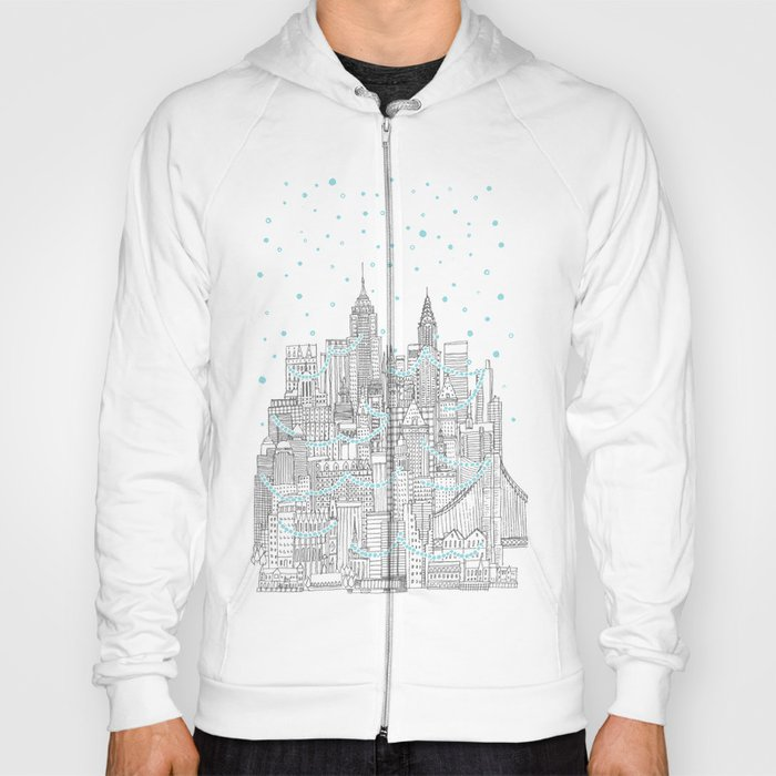 Winter in New York Hoody