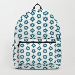 Mandala pattern smal Turquiose Backpack