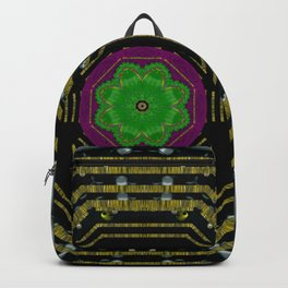 Leaf earth and heart butterflies in the universe pop art Backpack