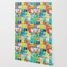 Dr. Seuss Book Covers Wallpaper
