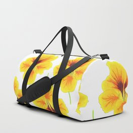 Indian cress flower - illustration Duffle Bag