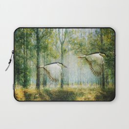 Magical Forests Impressionism Laptop Sleeve