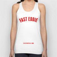 eddie vedder Tank Tops featuring FAST EDDIE by SIX PEAKS