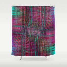 A Pattern of Testing Limits Shower Curtain