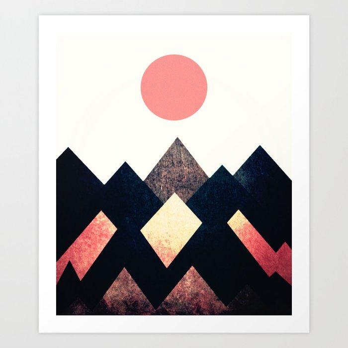 mountain 156 Art Print