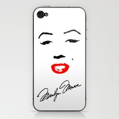 Marilyn Monroe! iPhone & iPod Skin