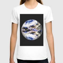 Globe19/For a round heart T-shirt