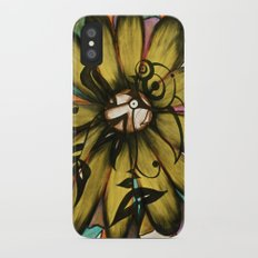 Let The Sunshine In (Sunflower) iPhone X Slim Case