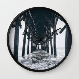 Carolina Pier  Wall Clock