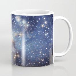 LH 95 stellar nursery in the Large Magellanic Cloud (NASA/ESA Hubble Space Telescope) Coffee Mug