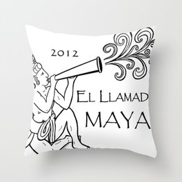 2012 El Llamado Maya (Tshirt) Throw Pillow