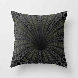 Solemn Drainage Throw Pillow