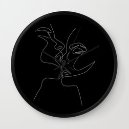 Intimate Night Wall Clock