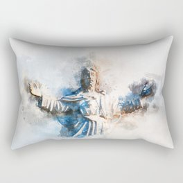 Religion Rectangular Pillow