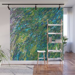 Mossy Waterfall Juul art Wall Mural