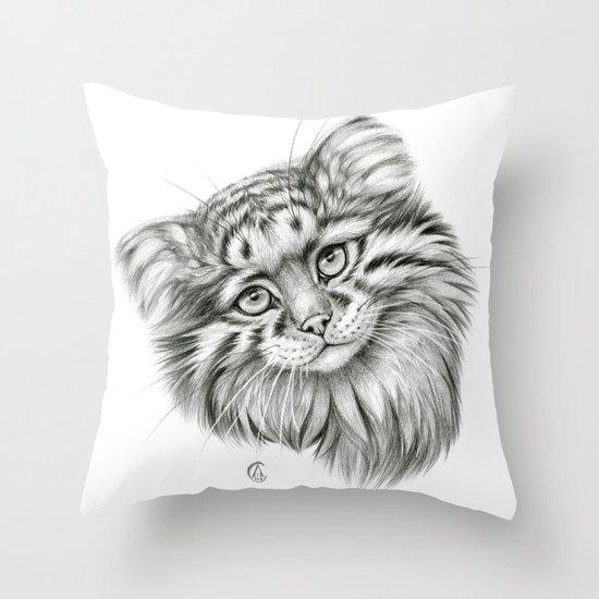 Pallas's Cat G2012-51 Throw Pillow