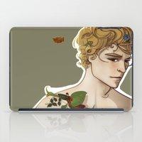 peter pan iPad Cases featuring Peter Pan by Rosita Maria