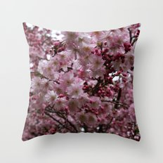 Blossoms in Bloomfield Throw Pillow